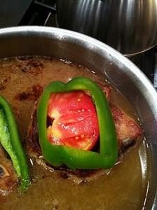 bell pepper pork chops